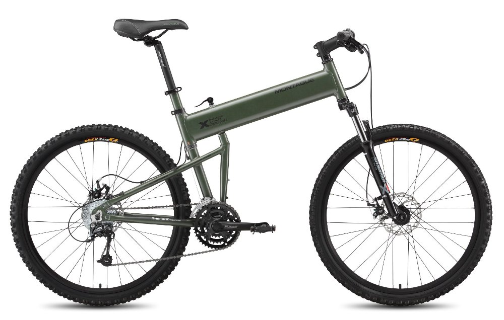 Montague folding bicycles