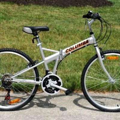 "Columbia 26"" Folding Bike Review"