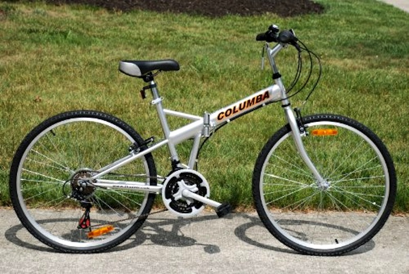 Columbia Compax Folding Bike Manual